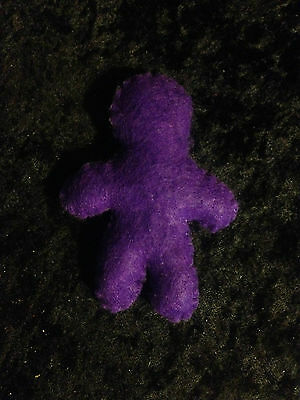 Voodoo Doll - Blank Slate Doll - Purple - Ambition, Psychic Awareness
