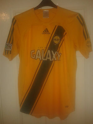 Mens Football Shirt - LA Galaxy - MLS American USA Team - Adidas - S - Home 2006