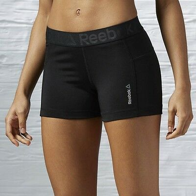 Reebok Work Out Ready Fit Knit Short Shorts