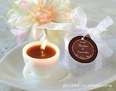 Coffee Cup Candles Romantic Wedding Supplies Personalized Wedding Gifts