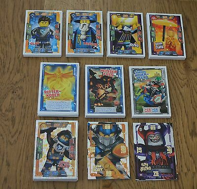 Lego Nexo Knights™ Trading Card Game all 180 Cards complete Set