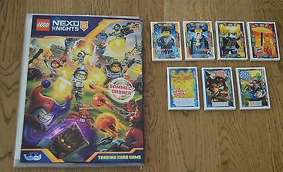 Lego Nexo Knights™ Trading Card Game Solution + all 134 Basic cards complete