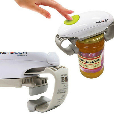 OneTouch World's Easiest Hands-Free Automatic Electric Bottle Jar Can Opener
