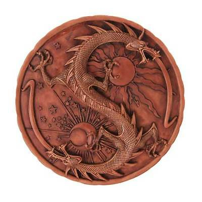 """Double Dragon Alchemy Plaque - 11"""" -  Wall Hanging"""