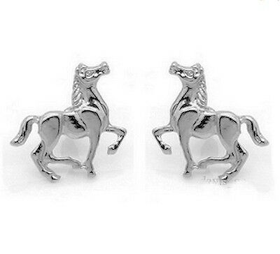 Horse & Western Jewellery Jewelry Ladies Womens  Silver Horse  Earrings