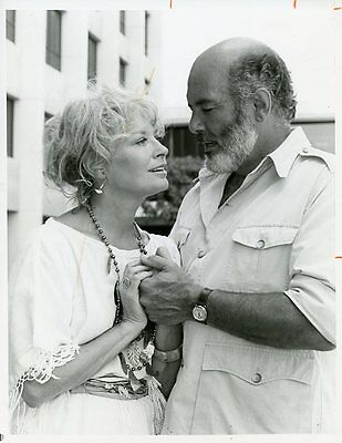 Lois Nettleton Pernell Roberts Trapper John M.d. Original 1979 Cbs Tv Photo