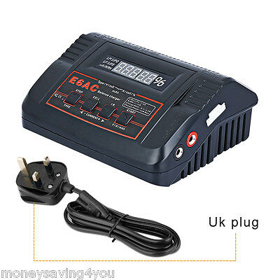 Balance Charger AC/DC Input for LiPo/LiFe/NIMH batteries with 1A,2A,4A,5A UK