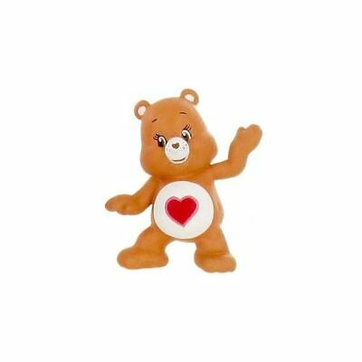 Comansi Collectable Figure - Care Bears - Brown Tenderheart Bear - 6cm - Y99641