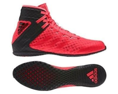 Adidas Boxing Adults Mens Speedex 16.1 Shock Black/Red Boots Shoes