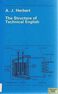 The Structure Of Technical English by Herbert A. J - Book - Paperback - Science