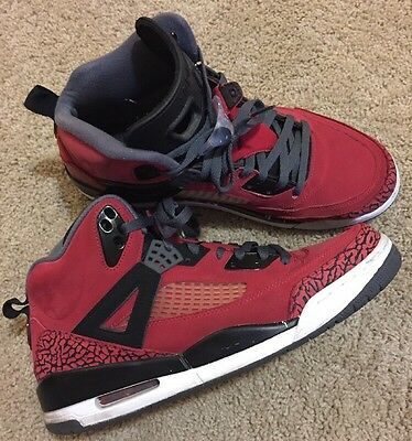 new arrival 9ee2d b6710 Nike Air Jordan Spizike Toro Bravo Raging Bull Red Size 12 Retro Black