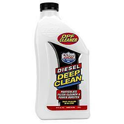 Lucas Oil 10873;For Diesel; Particulate Filter Cleaner And Power Booster; Single