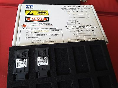 (2) Oic C-13-155-T-Ssc3 Laser Diode Module Photodiode Laser Nos New $199