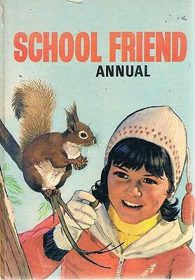 School Friend Annual 1969 by  - Book - Pictorial Hard Cover - Annuals - Girls
