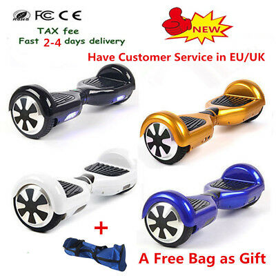 8 INCH Self Balancing Scooter Bluetooth Electric Balance Board 2 Wheels + Bag