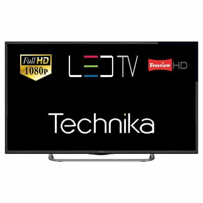 "Technika 40G22B-FHD 40"" Slim LED TV Full HD 1080p With Freeview HD Tuner HDMI"