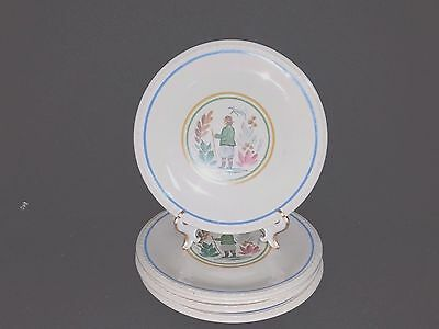 Taylor Smith & Taylor PEASANT - Dinner Plate Set of 5