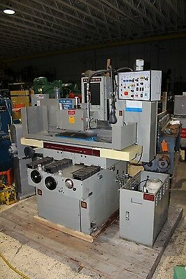 "Clausing/Chevalier 10"" x 20"" Hydraulic Surface Grinder - Kanetsu Wide Line Chuck"