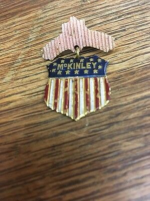 President McKinley Campaign Political Pin
