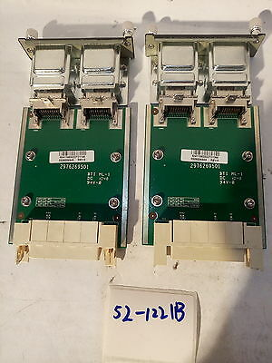 * LOT OF 2X Dell PowerConnect 6224 6224P 6248 Dual Port Stacking Module 0YY741