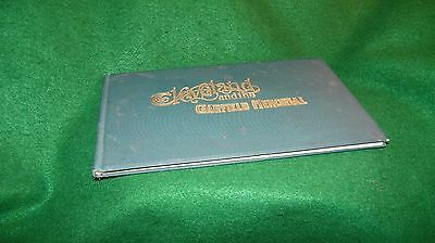 vintage  Cleveland Ohio 1894 city of CLEVELAND & GARFIELD MEMORIAL booklet