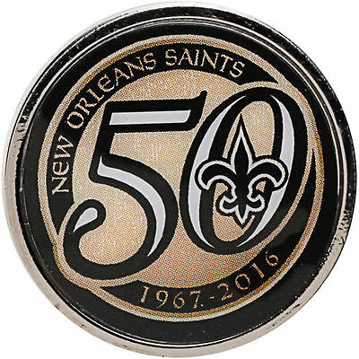 New Orleans Saints WinCraft 50th Anniversary Pin - NFL