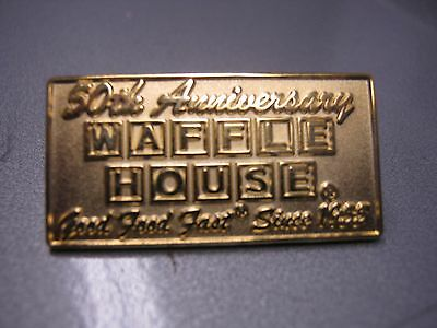 Waffle House 50th Anniversary Pin