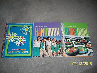 Girl Scouts Junior Scout Handbook, Badgebook & Activity - 3 Girl Scout Books