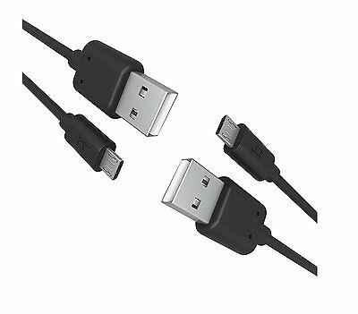 2 Pack Krofel™ 6 Ft 2.4A Fast Micro USB Charge Charger Data Sync Cable for Phone