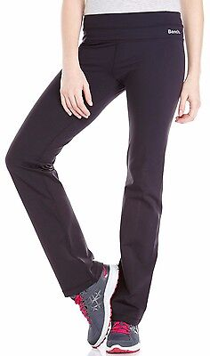 5f1e1d59dc87b Bench Womens Black New Marcy Athletic Yoga Fitness Active Pants BLNA1190 NWT