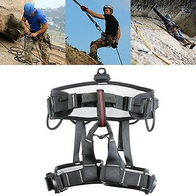 New Sit Harness Security Rock Climbing Rappel Rescue Seat Belt Outdoor Equipment