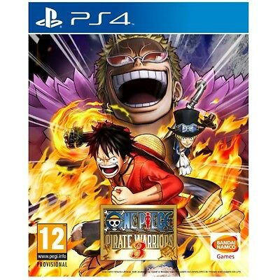 One Piece Pirate Warriors 3 PS4 Game Brand New