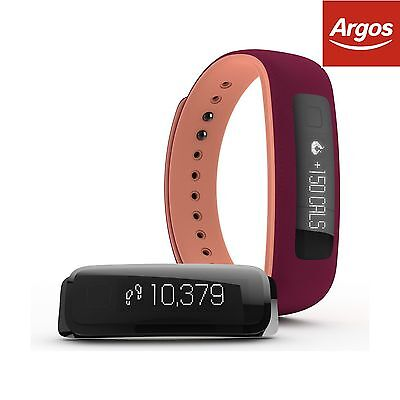 iFit Vue Fitness Tracker - Sangria. From the Official Argos Shop on ebay