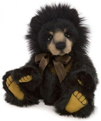 New **COLLECTABLE HANDMADE FULLY JOINTED CHARLIE BEAR~ANNIVERSARY MALCOM** 38cm