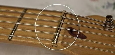 AxeMasters FREE SHIP Slotted Brass Nut for COZART 12 String Electric Guitar