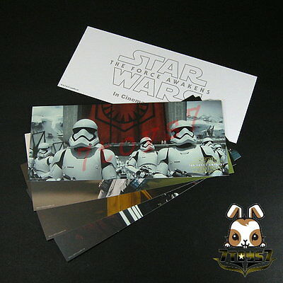 Star Wars #VII The Force Awakens - Poster cards Set _5 postcards Lucasfilm Now