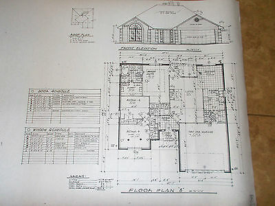 Custom House Plan 1 Story 3/2/2 Home 1478 A/C Sq Ft  2018 Total Under Roof