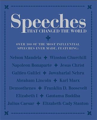 Speeches that Changed the World by Bounty - Paperback - NEW - Book