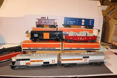 Lionel Post-War Set #2507W- New Haven F-3  Freight Set- Boxed- Set Boxed