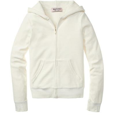 FALL 2012 NWT Authentic ANGEL Juicy Couture VELOUR Gold J Zip Hoodie JGM00001