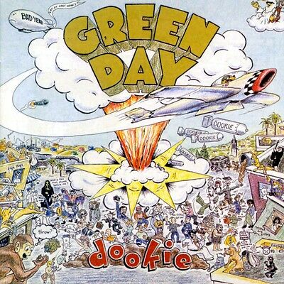 Green Day Dookie New Sealed Vinyl Lp In Stock Same Day Dispatch