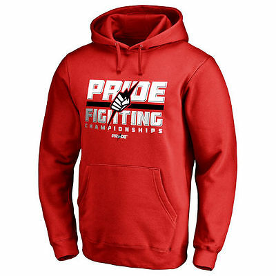 UFC Pride Pullover Hoodie - Red - MMA