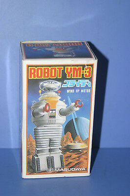Robot Ym-3 Wind-Up Made In Japan Masudaya 1985 Lost In Space