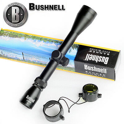 Bushnell Banner Short Rifle Scope 3-9x40 Reticle Riflescope Sight Water Tactical