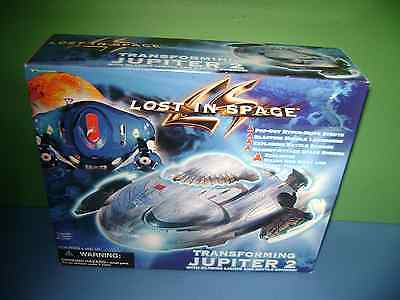 Lost in space Transforming Jupiter 2 space ship toy MOC Trendmasters Scarce