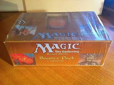 Magic The Gathering Revised Sealed Booster Box Of 36 Sealed Packs