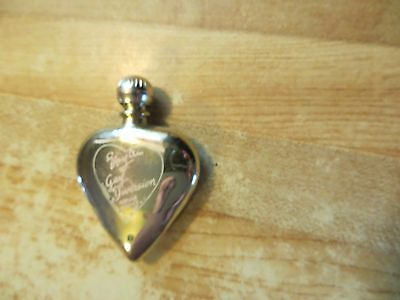 Gay Diversion cologne by Evyan antique heart shaped perfume bottle