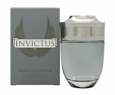 Paco Rabanne Invictus Aftershave Lotion 100Ml Splash - Men's For Him. New