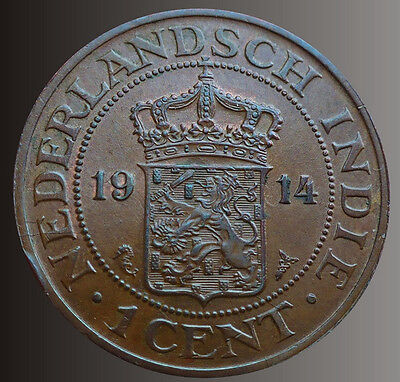 Netherlands East Indies 1914 1 Cent