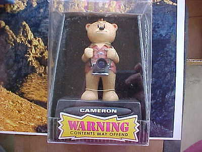 Bad Taste Bears  CAMERON  with CAMERA  new In Box  PETER UNDERHILL